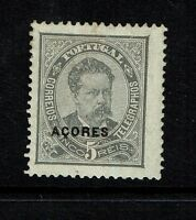 Azores SC# 44b, Mint Hinged, Hinge Remnants - Lot 080917
