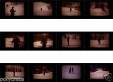 Film Super 8 Bobine Amateur Vacances Neige Ski Vosges 1992