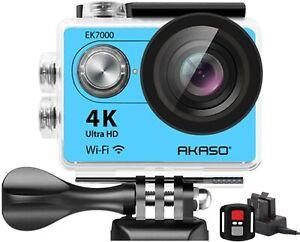 AKASO EK7000 4K30FPS Action Camera Ultra HD Underwater Camera 170 Degree Wide An