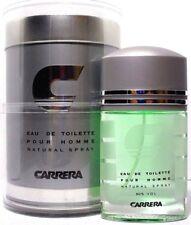CARRERA POUR HOMME Eau De Toilette Spray FOR MEN 3.4 Oz / 100 ml NEW ITEM IN BOX