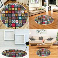Mandala Round Carpet Home Area Rug Kids Play Living Room Floor Yoga Mat Abstract