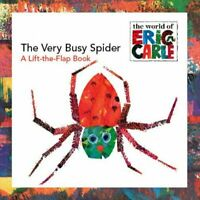 Very Busy Spider, Paperback by Carle, Eric (ILT), Brand New, Free shipping in...
