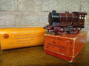 Pre War 1938 Hornby O gauge No. 1 Loco LMS 5600 Boxed