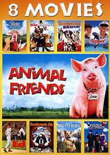 Animal Friends: 8 Movies (DVD, 2015, 2-Disc Set) Hours of Great Family Movies!