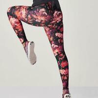 FABLETICS Salar Powerhold Leggings Impasto Floral Print Women's size XS 2-4 NWT