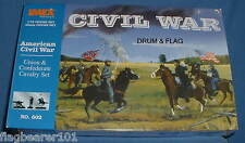 IMEX 602 AMERICAN CIVIL WAR UNION & CONFEDERATE CAVALRY SET. 1:72 SCALE