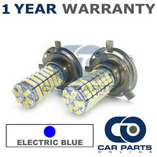 2X ELECTRIC BLUE H4 120 SMD LED DIPPED BEAM BULBS FOR MAZDA SUZUKI LEXUS SUBARU