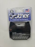 """2 Brother Correctable 1030 Film Ribbons AX Series 5/16"""" x 525 - 1230 Black New"""