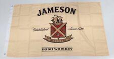 Jameson Banner Flag - Irish Whiskey Straight Man Cave Alcohol Spirit Sine Metu