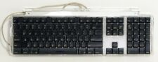 2000 Genuine Apple M7803 USB Wired Keyboard Black with 2 USB Ports Tested Clean