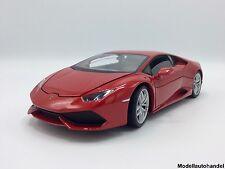 Lamborghini Huracan LP 610-4 2014-Metallico-Rosso - 1:18 Welly