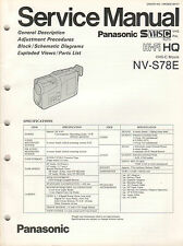 Panasonic-VHS-C Movie nv-s78e - General Description conmutación imágenes ESPECIF-b2311