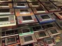 Nintendo Game & Watch Handheld Console Donkey Kong LION Mario Bros. Various