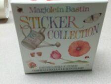 Vintage Marjolein Bastin Hallmark Stickers 4 roll box 1998 bird garden bee