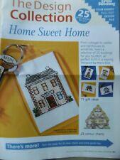 """Stickvorlagensammlung """"Home sweet Home"""" 25 Kreuzstichmotive von Maria Diaz"""