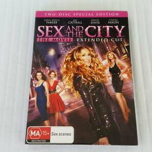 Sex and the City - The Movie (Extended Cut) (DVD, 2008, 2-Disc Set) R4