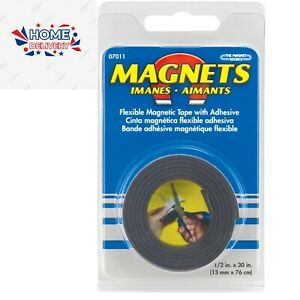 """Master Magnetic Roll of Flexible Magnetic Tape 1/2"""" x 30"""" (FREE SHIPPING)"""