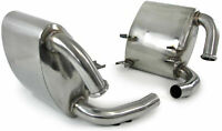 stainless steel exhaust silencer for Porsche 911 996 C2 C4