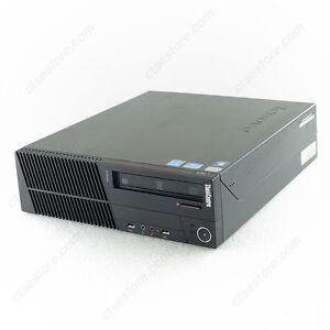 LENOVO M91p SFF i7-2600 QUAD 3.4GHz 8GB RAM 500GB HDD DVDRW WIN 10 PRO