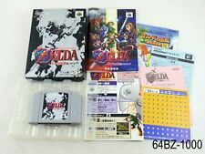 Complete Zelda Ocarina of Time Nintendo 64 Japanese Import N64 Boxed US Seller B