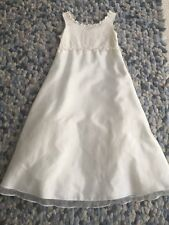 Next Girls Ivory Bridesmaid Flower girl Party Dress Age 9