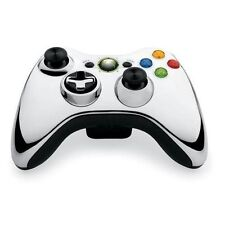 Microsoft Xbox 360 Silver Controllers and Attachments