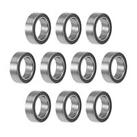 MR128-2RS Ball Bearings Z2 8x12x3.5mm Double Sealed Chrome Steel 10pcs