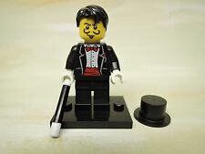 Lego Mini Figur Sammelfigur Serie 1 Magier  COL009  +  Platte TOP v. Händler
