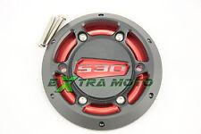 Cover coperchio carter motore ergal Yamaha T-Max 530 ROSSO-NERO