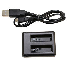 HQRP Cargador USB doble de 2 pilas para cámara GoPro HD Hero4, AHDBT-401 4 Hero