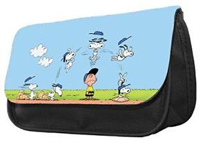 Pencil Case-Adorable Snoopy,School bus-pencil case,make up case,back to school