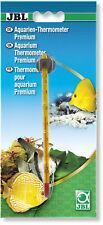 JBL Premium Thermometer (glass temperature thin slim display fish aquarium tank)