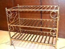 Zapatero estante del zapato Mueble para calzado Antiguo Metal and-s02 NUEVO