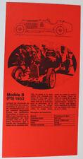 Alfa Romeo Modèle (P3) 1932 Oldtimer Original Prospekt Werbung 5.1 1848 DL14