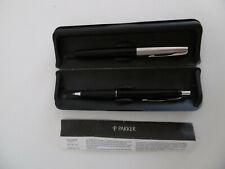 Parker Kuli Stift Kugelschreiber Tintenroller mit Schutzhülle Schule Unterschrif