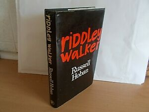 Riddley Walker by Russell Hoban (Hardcover, 1980) 1st edition Published By Cape