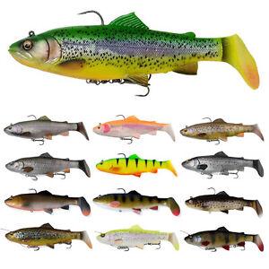 Savage Gear 3D 4D Trout Rattle Shad 12,5cm 17cm 20,5cm Line Thru 27,5cm SS  MS