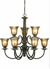 SEA GULL LIGHTING 3170409-736 Blayne Dining Room - 9 Globe Chandelier Lighting