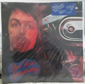 Paul McCartney Wings Red Rose Speedway Apple 1973 LP Record SEALED HYPE SMAL3409
