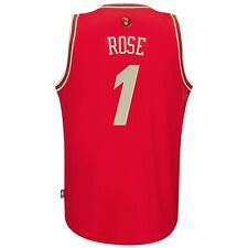 Youth Chicago Bulls Derrick Rose adidas Red Christmas Day Replica Jersey
