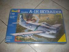 REVELL  DOUGLAS A-1H SKYRAIDER PLASTIC MODEL 1/48