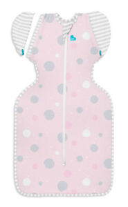 Love to Dream SWADDLE UP TRANSITION BAG - LITE 0.2TOG - PINK - 2 SIZES