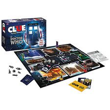 BBC DOCTOR WHO CLUE BOARD GAME - CLUE® Doctor Who Villains Collectors Edition