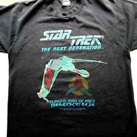 Star Trek Klingon Bird of Prey Next Generation T-Shirt Rare Collectible USA