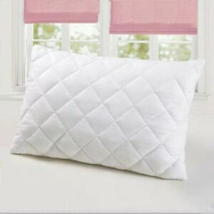 Quilted Cot Pillow Toddler Pillow Removable Zipped Washable Cover