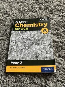 A Level Chemistry for OCR year 2 Textbook