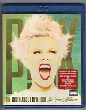 Blu-ray PINK THE TRUTH ABOUT LOVE TOUR Live from Melbourne