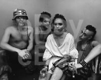 Bow Wow Wow Annabella Lwin, David Barbe, Matthew Ashman, Lee Gorman 10x8 Photo