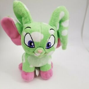 Neopets Plushie Acara Plush Green Speckled (no tags or virtual prize code)