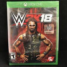 WWE 2K18 (Microsoft Xbox One, 2017) BRAND NEW/ Region Free